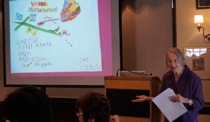 1.ハーバード大学教育学大学院における乳幼児教育専門家(プロジェクトゼロ)による講義
